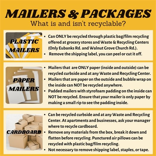 Mailers and Packages