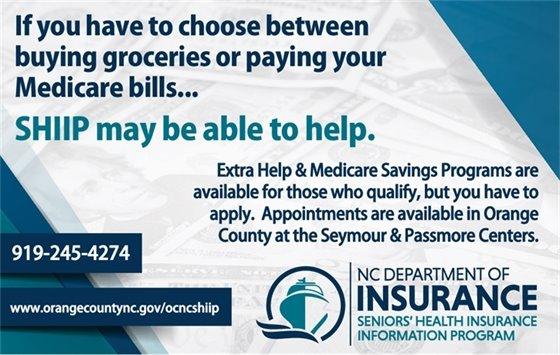 NC Seniors Health Insurance Information Program (SHIIP)