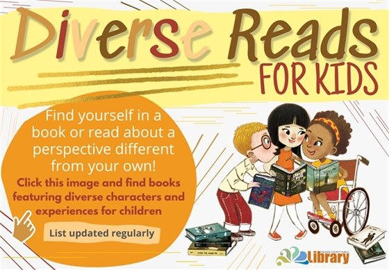 diverse reads for children, click the image to see the list