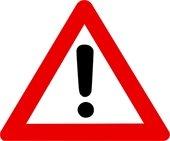 Warning Symbol - Red Exclamation Mark