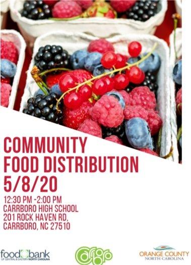 Community Food Distribution Site