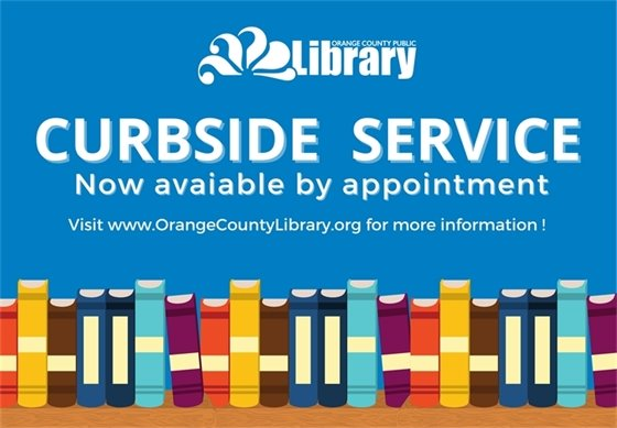 Curbside service is now available.