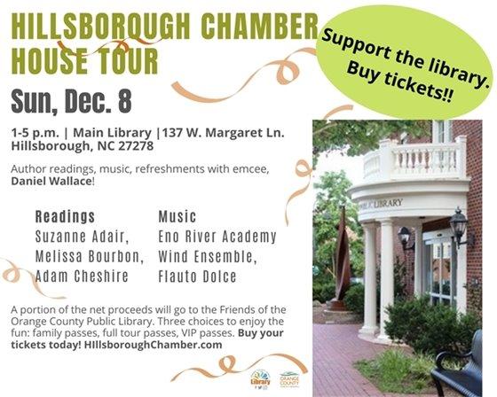 Hillsborough Home Tour -- Sun, Dec 8