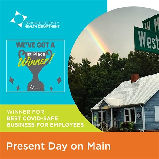 Winner for best COVID-safe business for employees