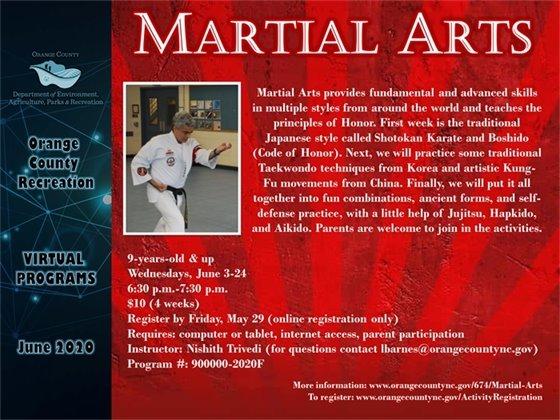 Martial Arts June 2020