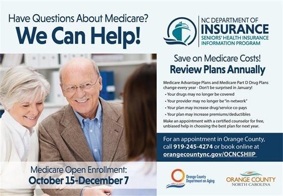 Medicare Open Enrollment ad