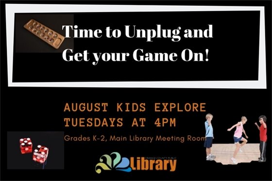 Kids Explore in August