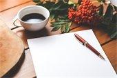 Pen, Notebook, Desk