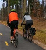 Photo of bike riders