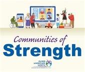 Older Americans Months Logo - Communities of Strength