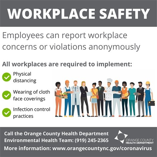 OCHD Workplace Safety