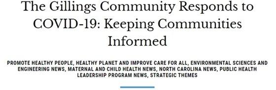 UNC Gillings School of Global Public Health