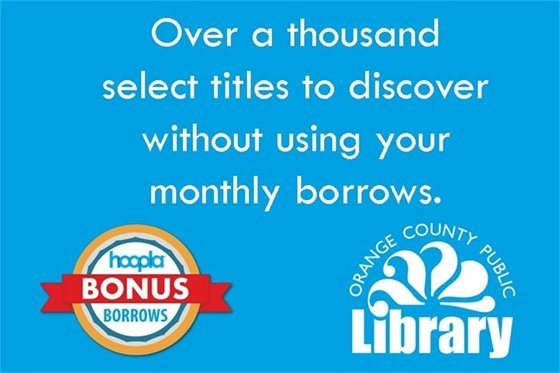 hoopla has some additional titles to check out and they will **NOT** count towards your monthly limit. click here