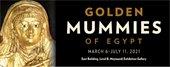 Golden Mummies of Egypt Flyer - NC Museum of Art