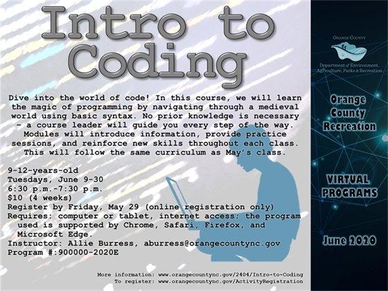 Intro to Coding June 2020
