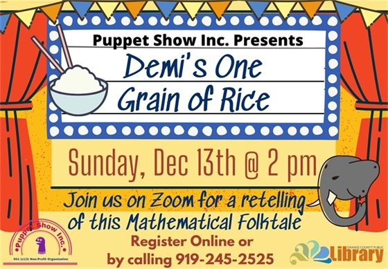 puppet show in December