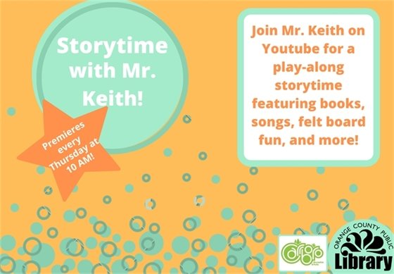 Storytime with Mr. Keith