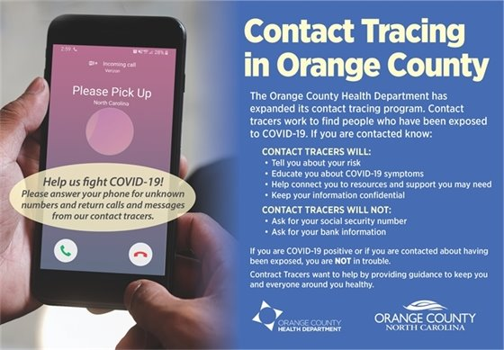 Contact Tracing in Orange County