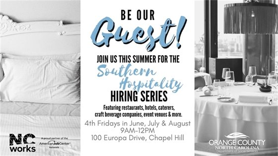 Southern Hospitality Hiring Fair graphic