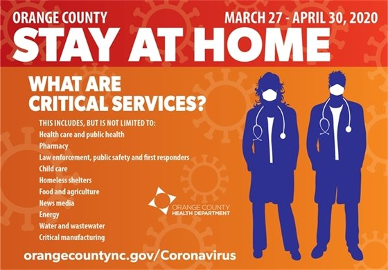 Stay at Home (Critical Services)