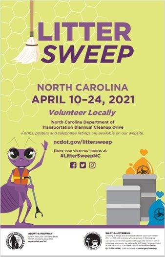 Litter Sweep April 10-24