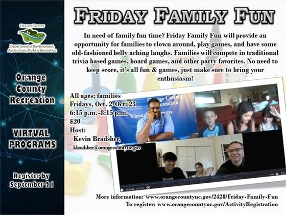 Friday Family Fun