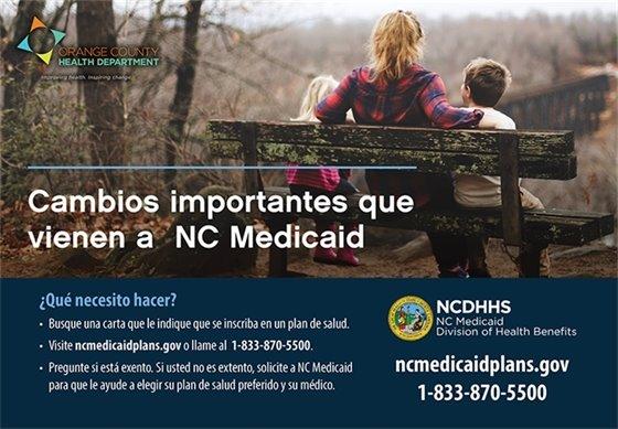cambio de Medicaid