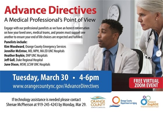 Advance Directives - A Medical Professional's Point of View