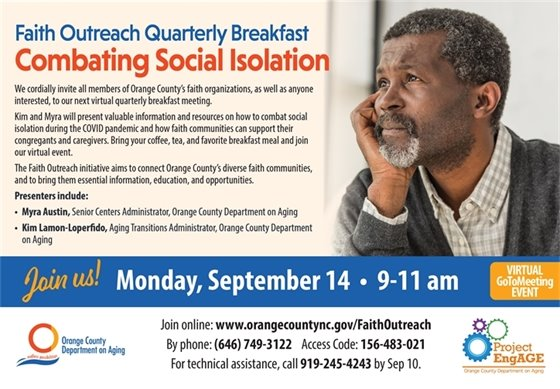 Quarterly Faith Breakfast graphic