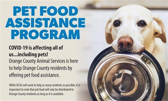 Pet Food Assistance
