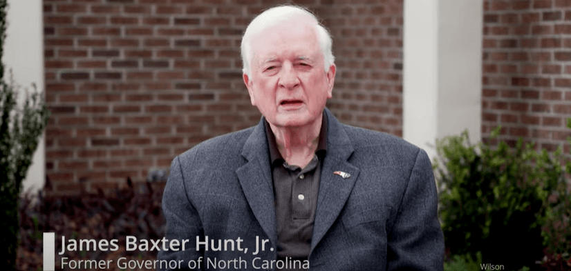 Message to Older Adults from Former Governor Jim Hunt