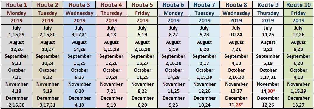 2019 Routes for Web