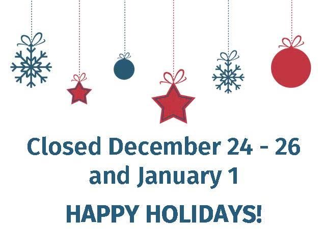 Holiday Closing hours2