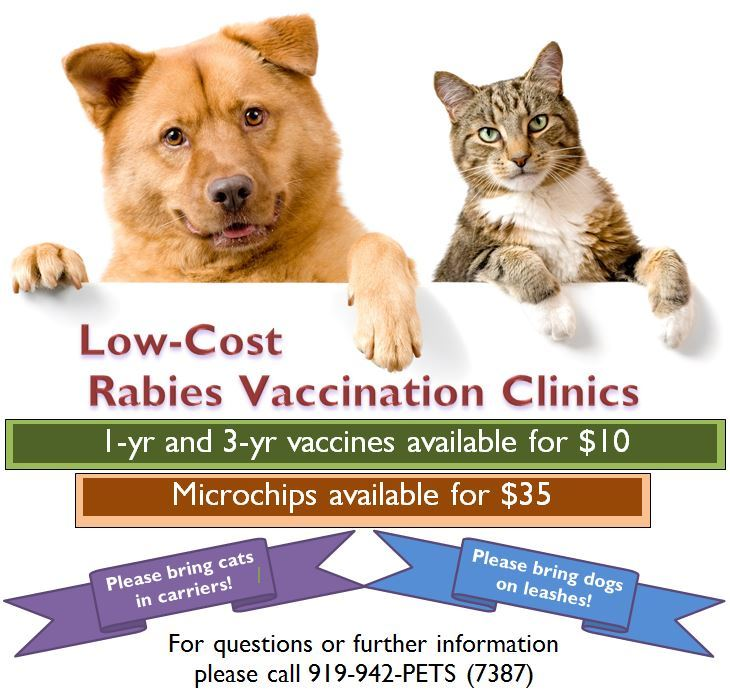 Rabies clinic info Opens in new window