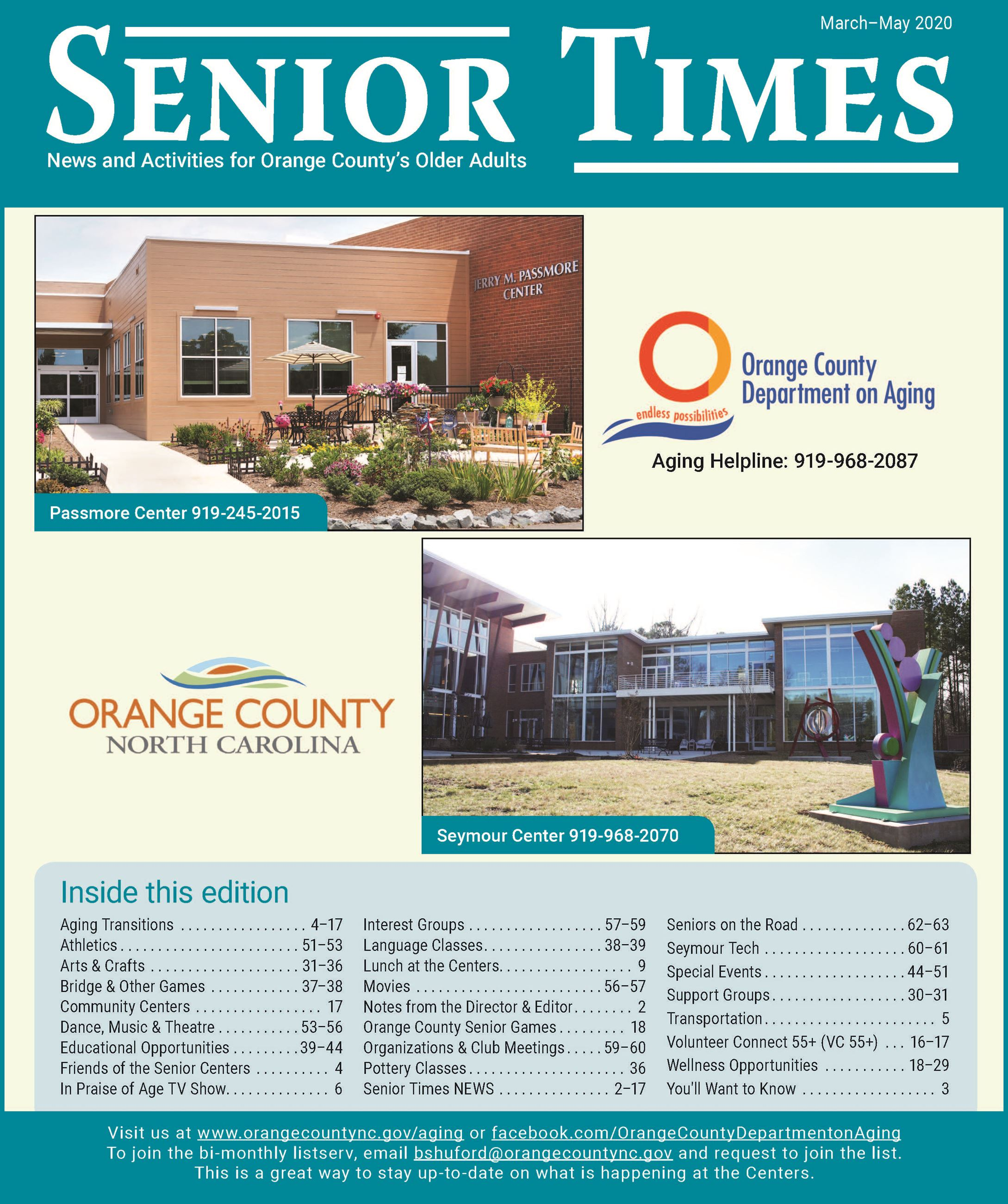 Senior Times_Spring_2020_cover Opens in new window